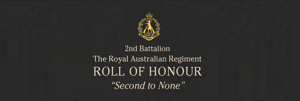 2RAR Roll of Honour[1]