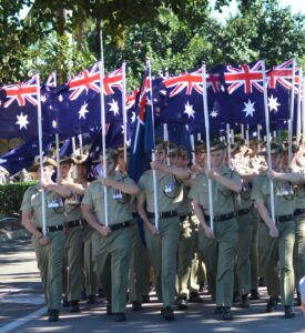 2RAR ANZAC Bn Reunion Townsville Flags of the Fallen 1967-8 1970-71